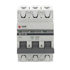 Выключатель Ekf Mcb4763-3-32d-pro от 220 Вольт