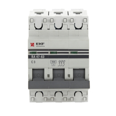 Автомат Ekf Mcb4763-3-50d-pro автомат ekf mcb4763 6 3 32c pro