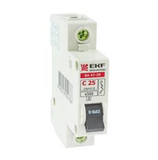 Выключатель Ekf Mcb4729-3-63c хомут ekf plc c o 3 6x200