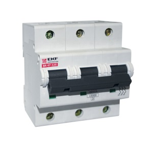 Выключатель Ekf Mcb47125-3-100c