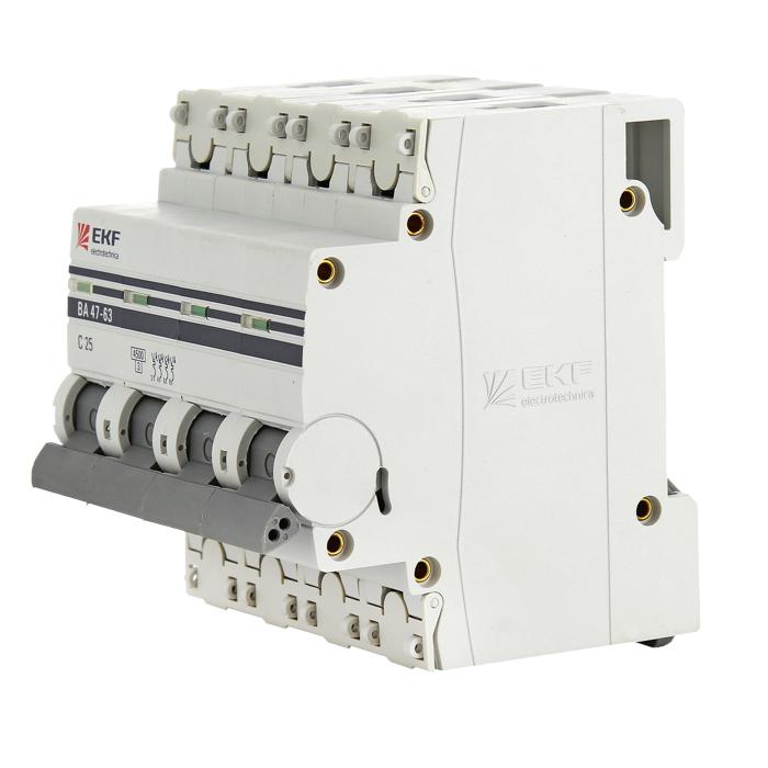 Автомат Ekf Mcb4763-4-50c-pro автомат ekf mcb4763 6 3 32c pro