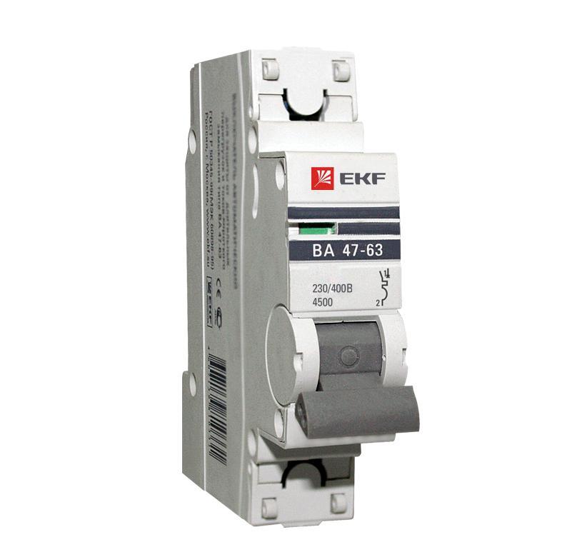 Выключатель Ekf Mcb4763-1-32В-pro