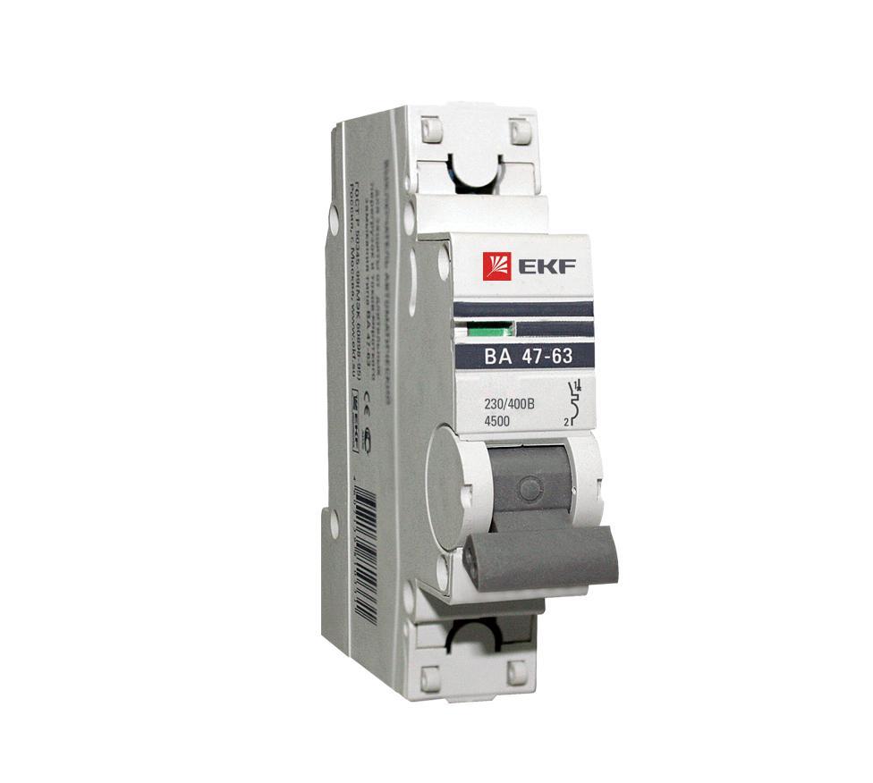 Выключатель Ekf Mcb4763-1-40В-pro