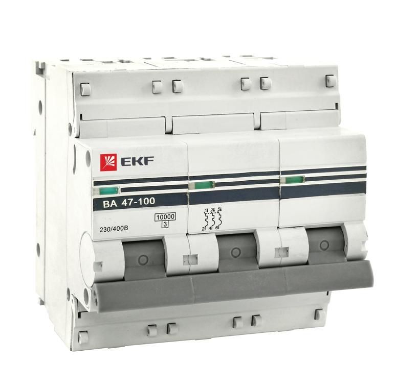 Выключатель Ekf Mcb47100-3-32d-pro