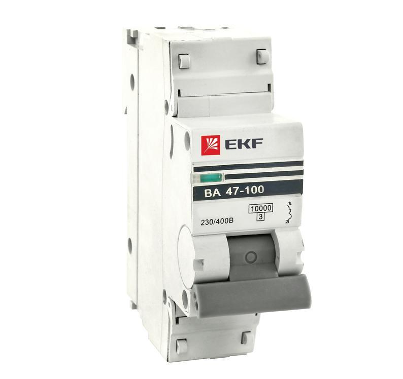 Выключатель Ekf Mcb47100-1-10c-pro