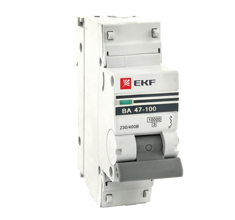Выключатель Ekf Mcb47100-1-16c-pro