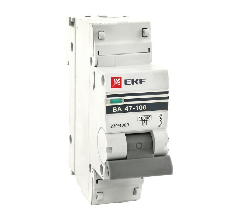 Выключатель Ekf Mcb47100-1-25c-pro