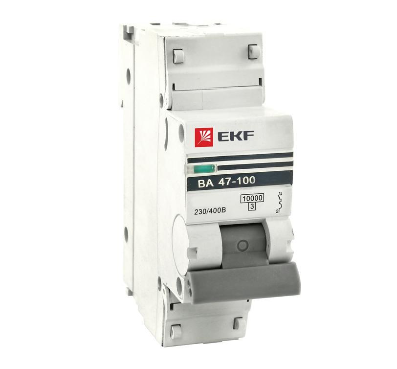Выключатель Ekf Mcb47100-1-50c-pro