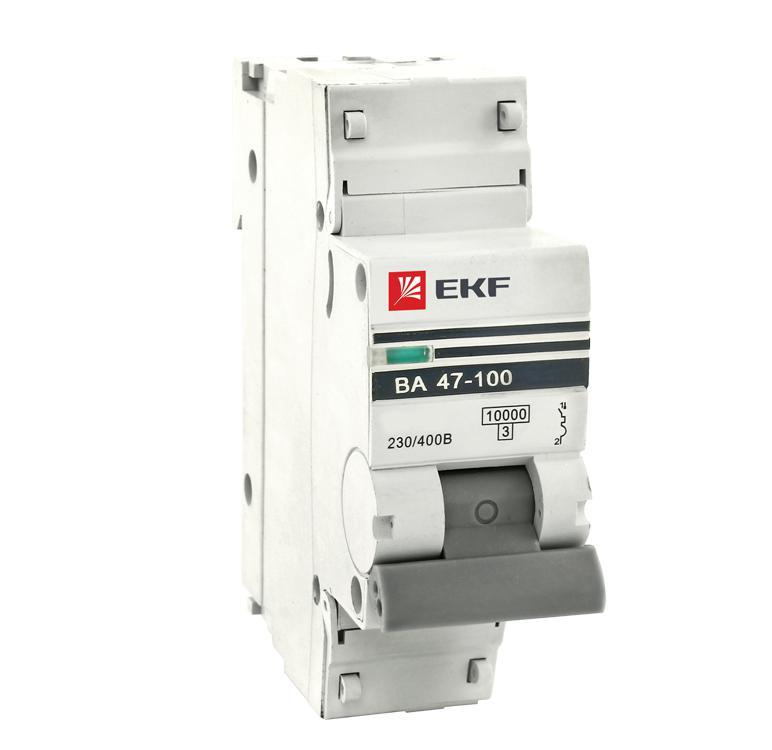 Выключатель Ekf Mcb47100-1-80c-pro