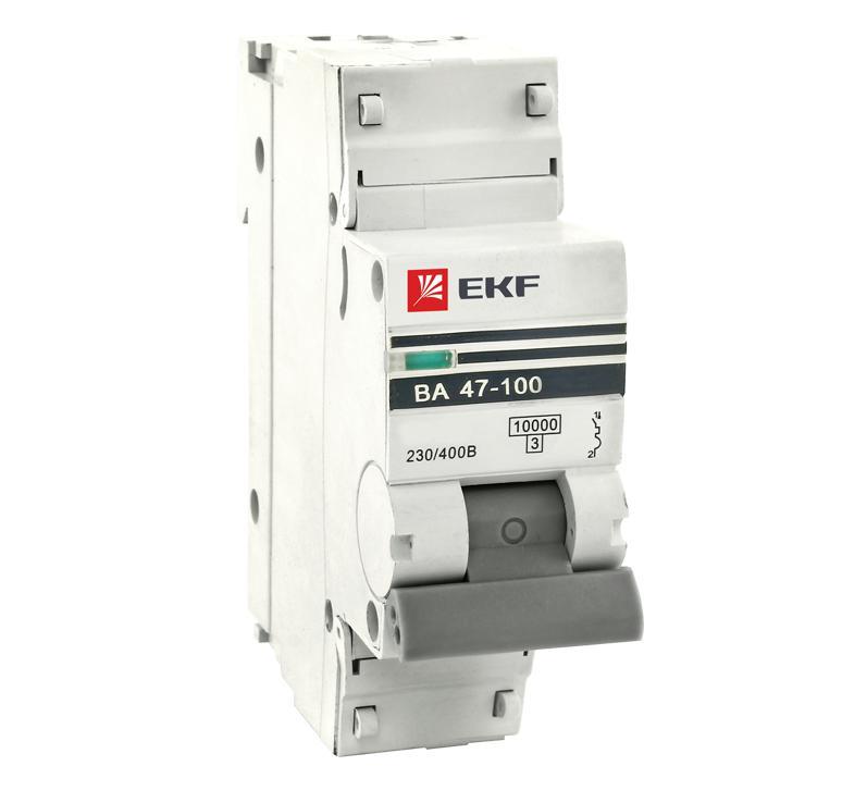 Выключатель Ekf Mcb47100-1-100c-pro