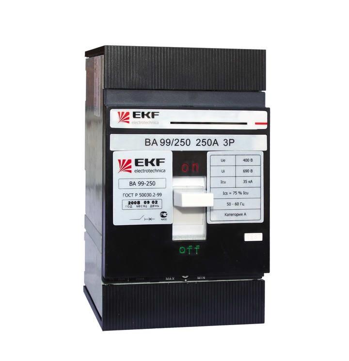 Выключатель Ekf Mccb99-250-160