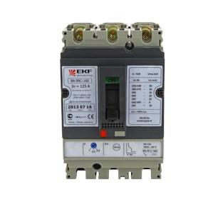Автомат Ekf Mccb99c-160-125 автомат ekf mcb47125 3 125c