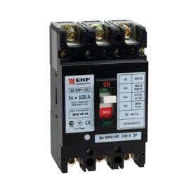 Выключатель Ekf Mccb99-100-100m