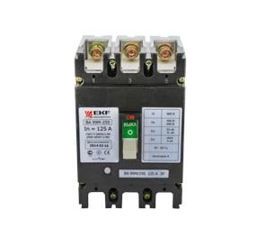 Купить Выключатель Ekf Mccb99-250-125m