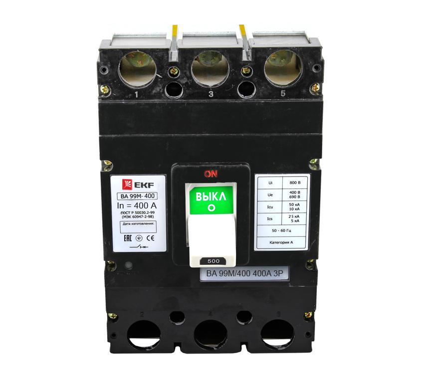 Выключатель Ekf Mccb99-400-400m