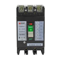 Выключатель Ekf Mccb99-63-63m