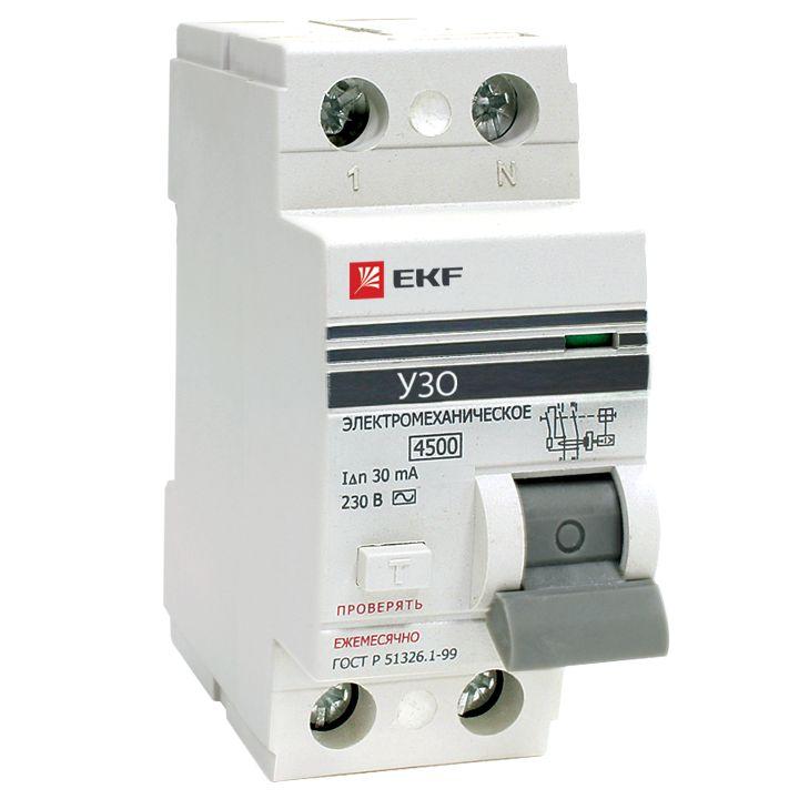 Выключатель Ekf Elcb-2-40-30-em-pro