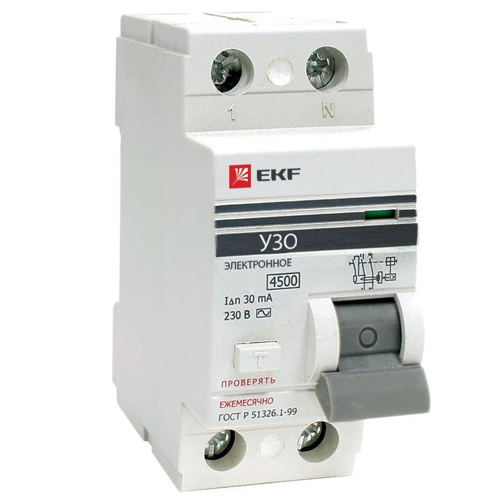 Выключатель Ekf Elcb-2-63-30e-pro