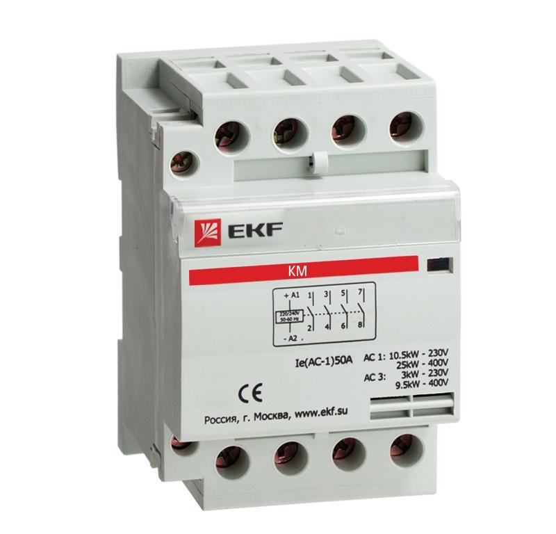 Контактор Ekf Km-3-20-40