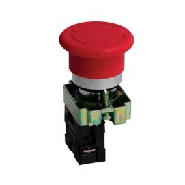 Кнопка Ekf Xb2-bs542 p47 momentary push button switch with light 22mm 10a 240v 3a circular small size flat round panel nc no xb2 ba31 xb2 ba42