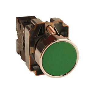 Кнопка Ekf Xb2-ba31 p47 momentary push button switch with light 22mm 10a 240v 3a circular small size flat round panel nc no xb2 ba31 xb2 ba42