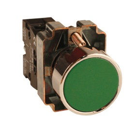 Кнопка Ekf Xb2-ba42 p47 momentary push button switch with light 22mm 10a 240v 3a circular small size flat round panel nc no xb2 ba31 xb2 ba42