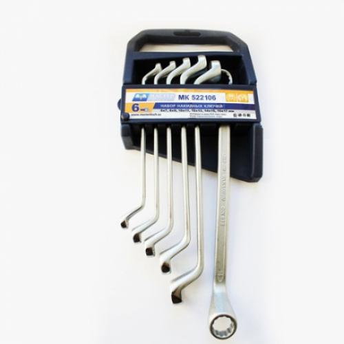 Набор ключей МАСТЕР КЛЮЧ МК522106 (6 - 17 мм) набор торцевых головок jonnesway 3 8dr 6 22 мм и комбинированных ключей 7 17 мм 36 предметов