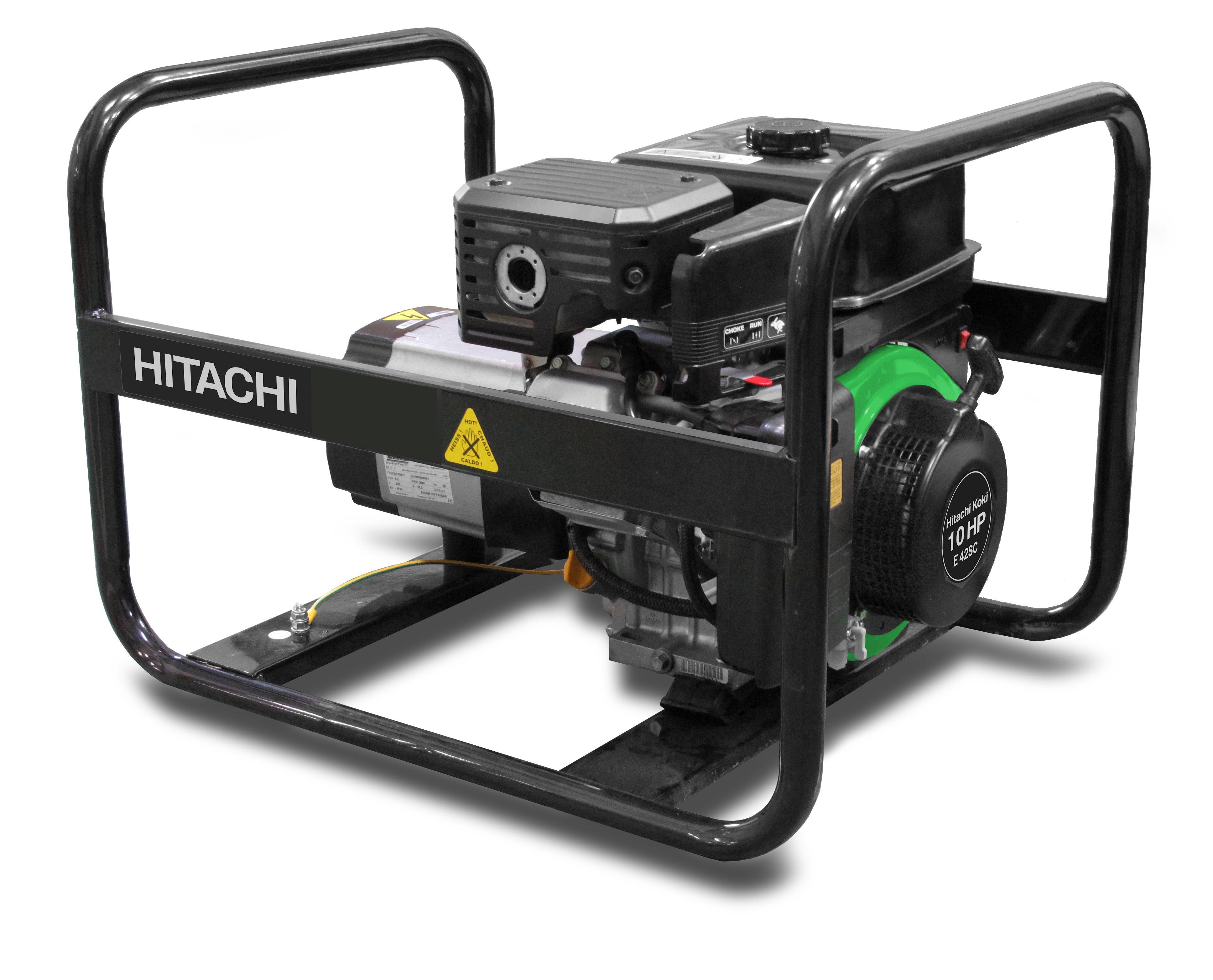 Бензиновый генератор Hitachi E42sc бензиновый генератор hitachi e 50 3p