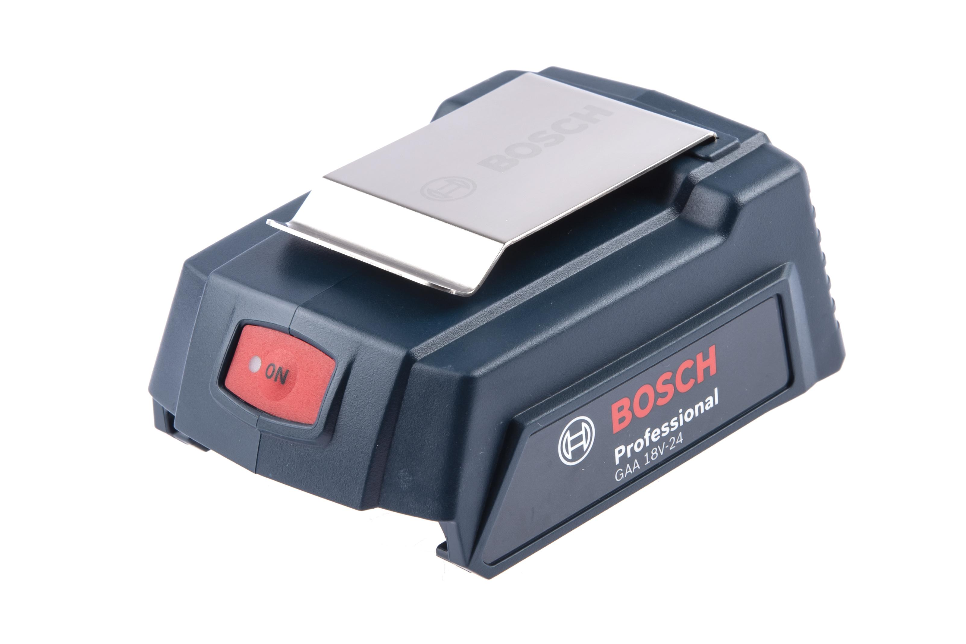 Адаптер Bosch Gaa 18v-24 набор bosch радио gml 50 power box 0 601 429 600 адаптер gaa 18v 24