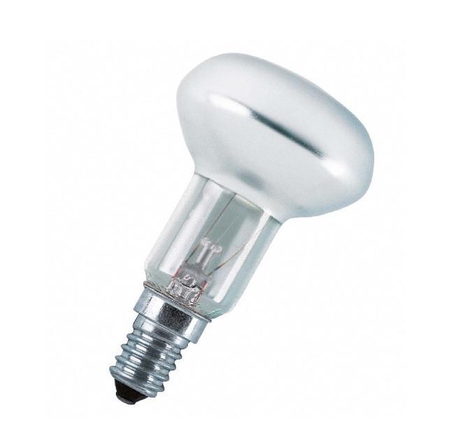 Лампа накаливания Osram Concentra r50 60Вт e14 бра v1398 1a 1xe14 макс 60вт