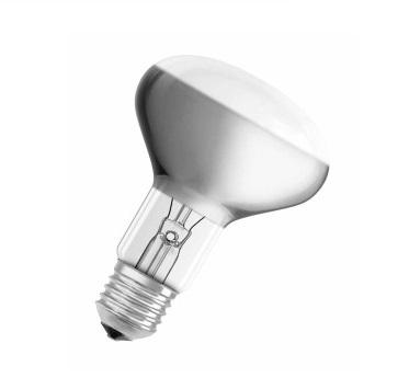 Лампа накаливания Osram Concentra r80 60Вт e27 лампа накаливания osram e14 60вт 2600k 092423