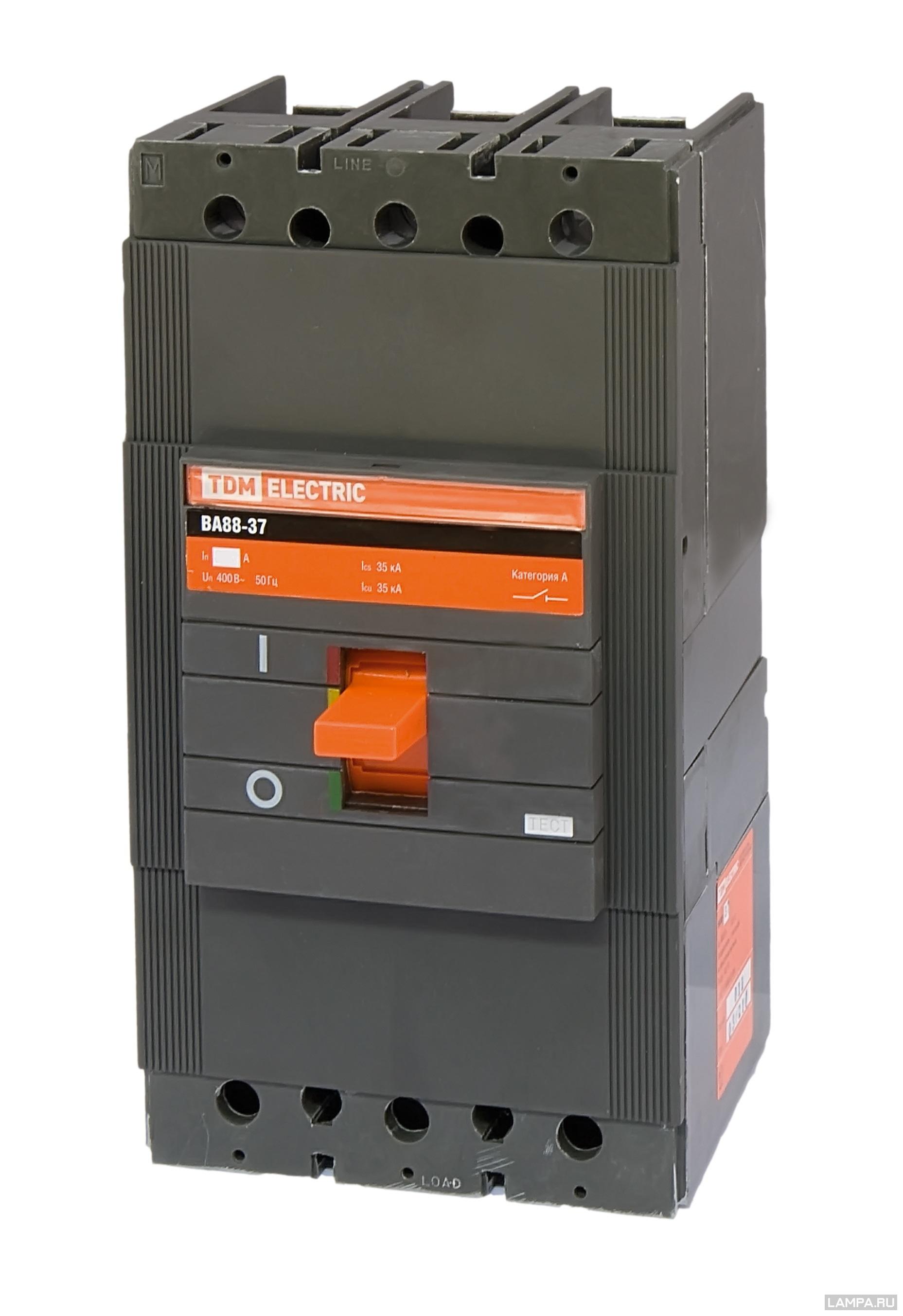 Автомат Tdm ВА88-37 автомат tdm sq0218 0021