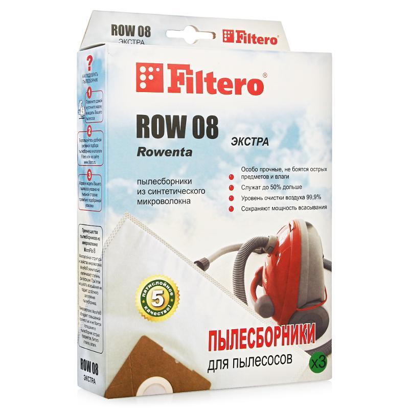 Мешок Filtero Row 08 ЭКСТРА пылесборник filtero row 07 extra