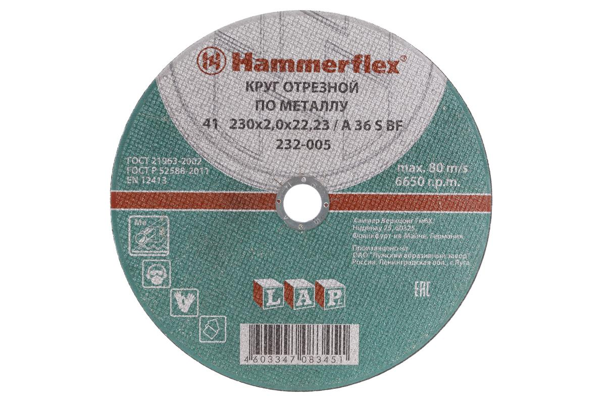 Набор Hammer 50 штук отрезных кругов 230х2.0х22.23, А36 s bf набор отрезных кругов dremel 705 2615s705ja