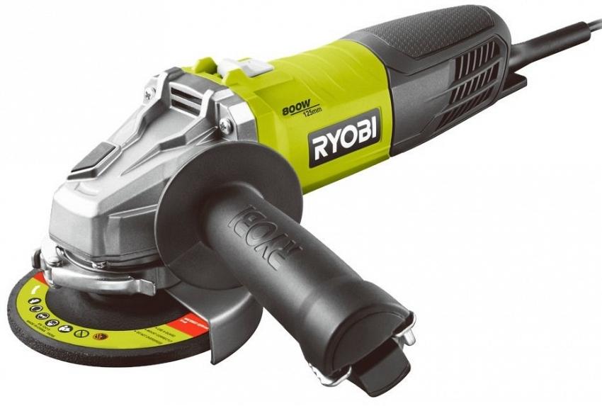 УШМ (болгарка) Ryobi 3002491 (rag800-125g)