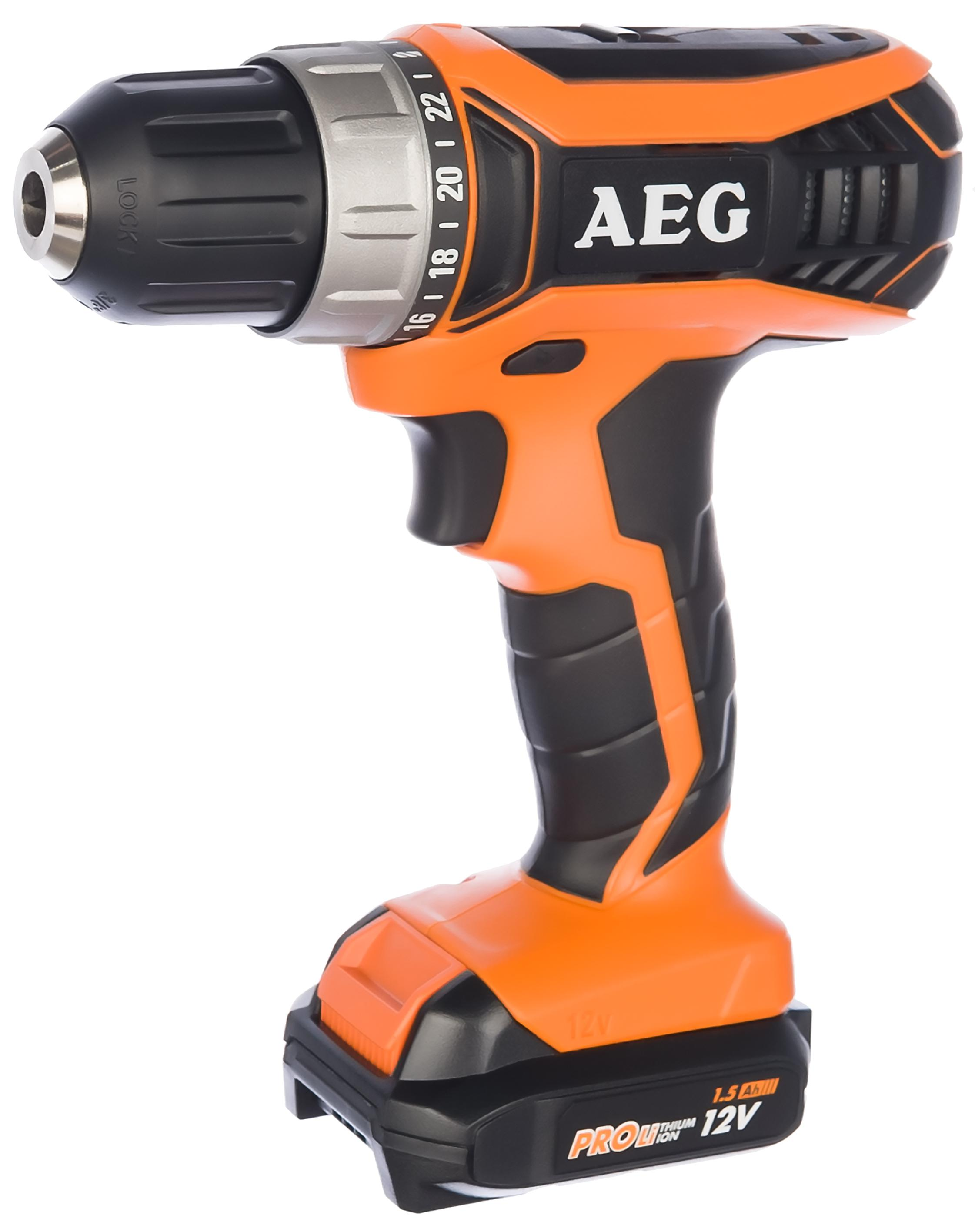 Дрель аккумуляторная Aeg 451090(bs12g3li-152c)