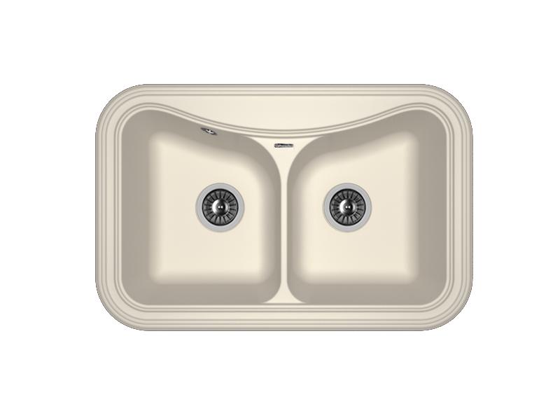 Мойка кухонная Florentina Крит-780 А жасмин мойка кухонная florentina крит 780 780х510 грей fsm 20 170 d0780 305