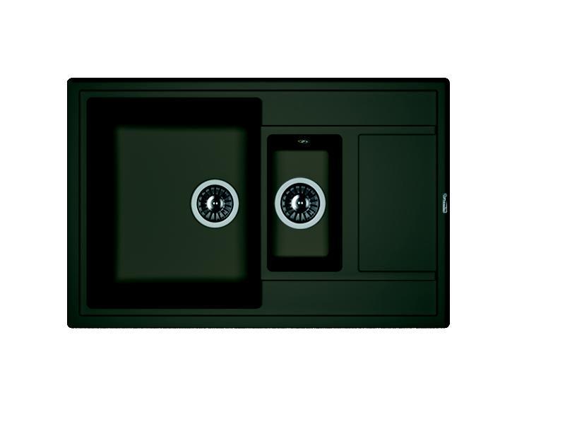 Мойка кухонная Florentina Липси 780К антрацит мойка кухонная florentina липси 780к коричневый fg 20 250 d0780 105