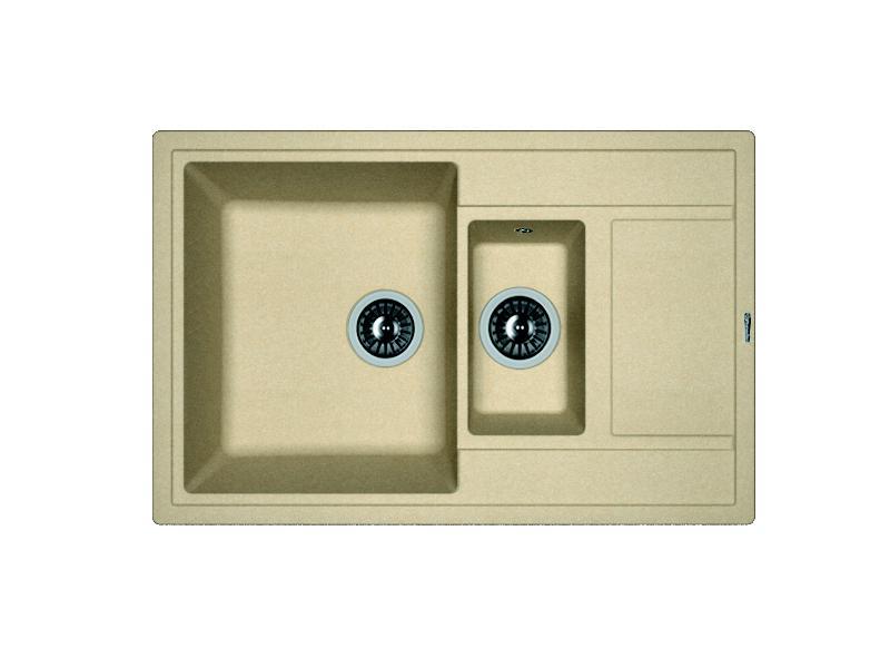 Мойка кухонная Florentina Липси 780К бежевый мойка кухонная florentina липси 780к коричневый fg 20 250 d0780 105