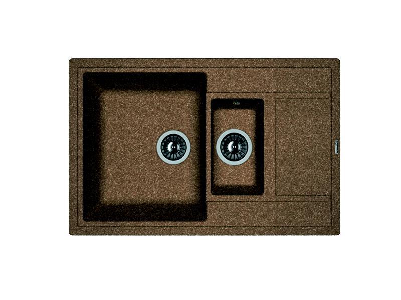 Мойка кухонная Florentina Липси 780К коричневый цена и фото