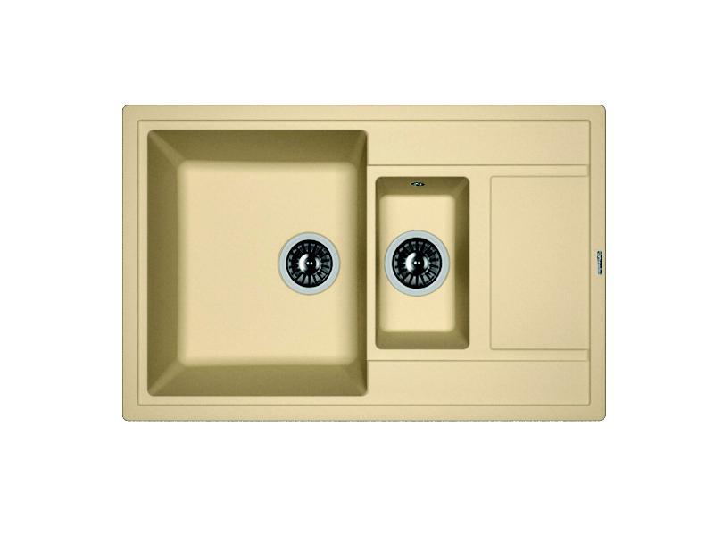 Мойка кухонная Florentina Липси 780К песочный 3 обнаженный песочный