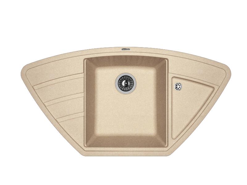 Мойка кухонная Florentina Липси-980С песочный 3 обнаженный песочный