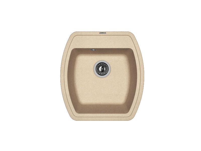 Мойка кухонная Florentina Нире-480 песочный 3 обнаженный песочный