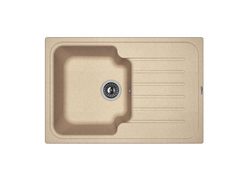 Мойка кухонная Florentina Таис 760 песочный 3 обнаженный песочный