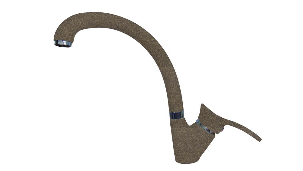 Смеситель Florentina Fl-03 Омега коричневый