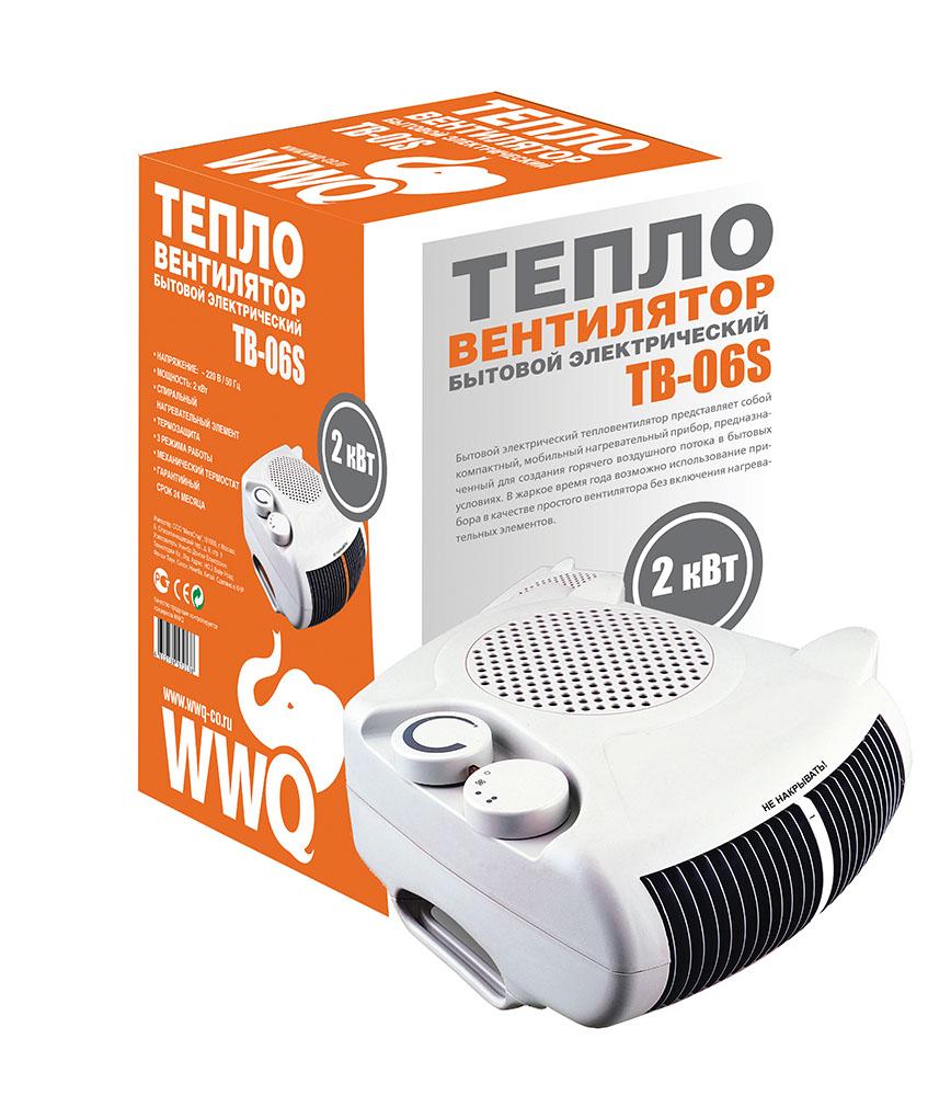 Wwq - Тепловентилятор Wwq ТВ-06s (14468)