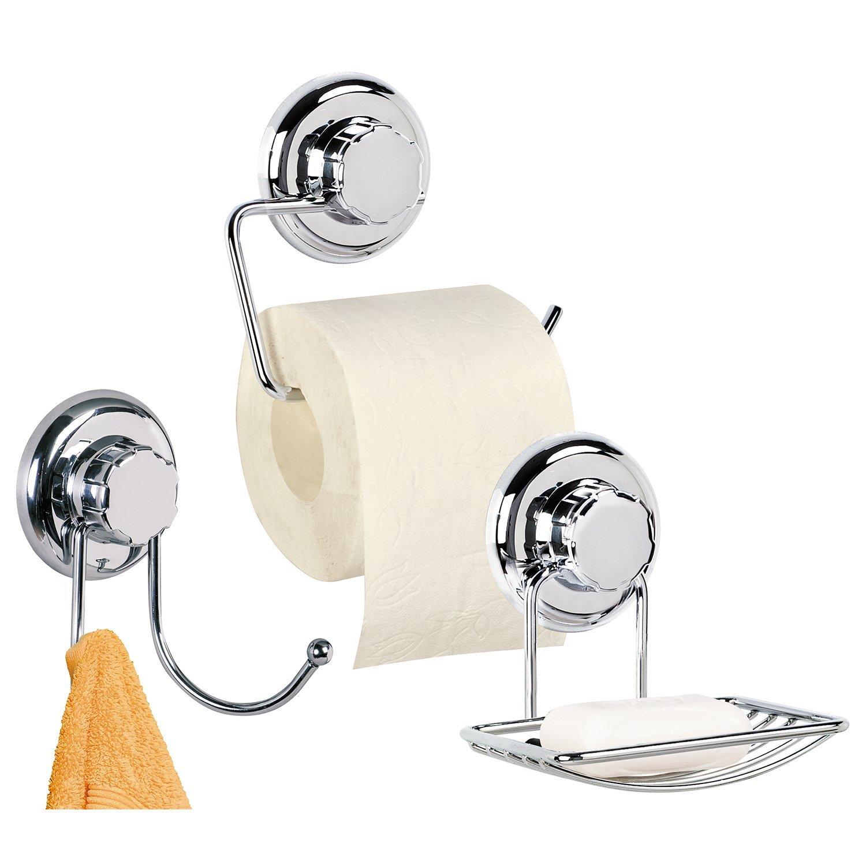 Набор для ванной комнаты Tatkraft 11939 bering titanium 11939 078