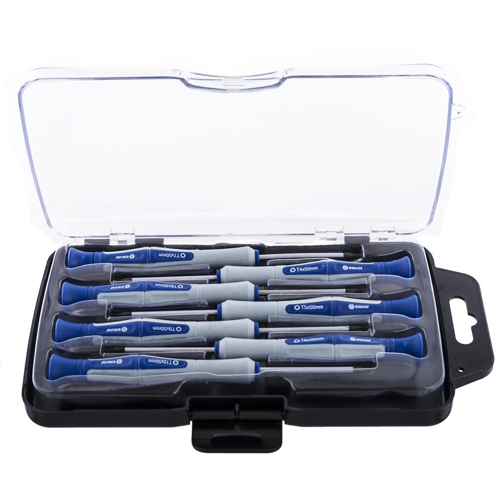 Набор отверток КОБАЛЬТ 245-237 набор отверток для точных работ кобальт ultra grip 50мм 245 237