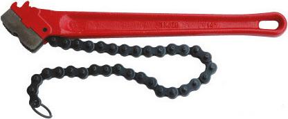 Ключ трубный цепной Rekon 28418