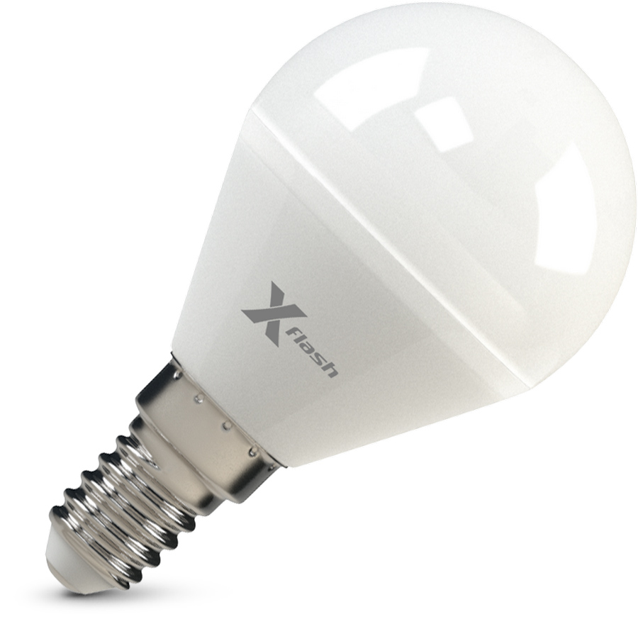 Лампа светодиодная X-flash Xf-e14-p45-6.5w-2700k-230v